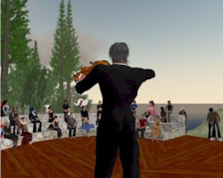 How does Second Life Music work?