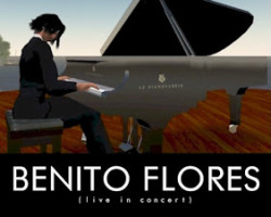 Benito Flores, July 24 @ 12 noon
