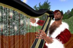 Mihangel Christmas Harp Concert 2014